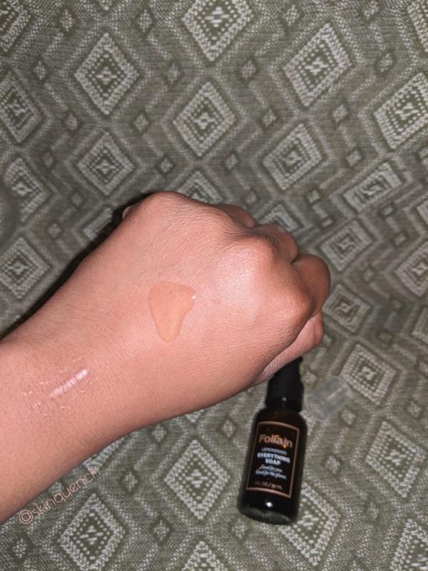 skin quench